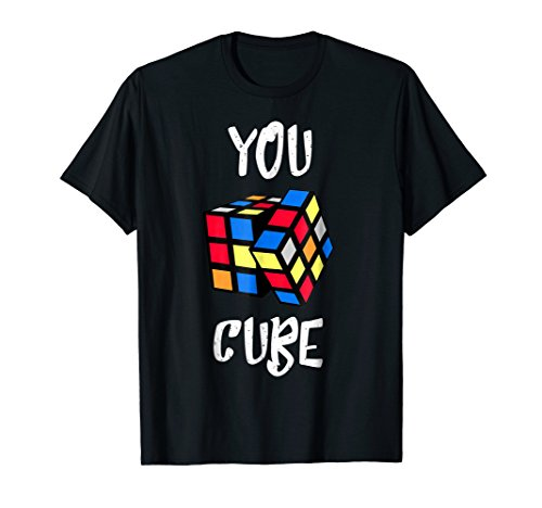 (You Cube Rubik Cubers Fun Puzzles Solves T-Shirts Gifts)