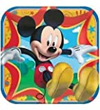 Mickey and Friends Plate (L) 8ct [Contains 3 Manufacturer Retail Unit(s) Per Amazon Combined Package Sales Unit] - SKU# 553844