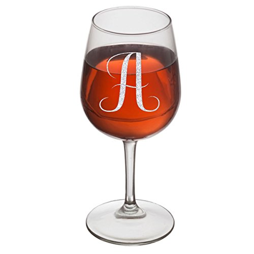 Rox Drinks Engraved Glass Monogram