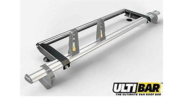 Van Guardia Ulti Bar escalera trasero de aluminio rodillo para Peugeot Boxer (94 – 06) [alto techo]: Amazon.es: Coche y moto