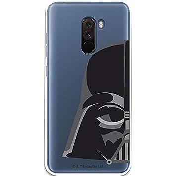 Carcasa Oficial Star Wars Darth Vader Transparente Xiaomi Pocophone F1