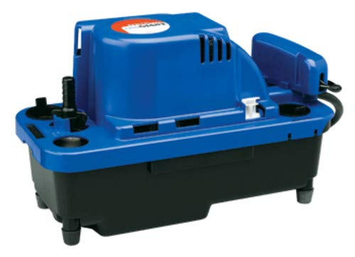 Little Giant 554531 VCMX 78 GPH 230V Automatic Condensate Removal Pump with 20' Cord and Safety Switch ()