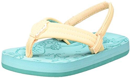 Reef Mädchen Little Foot Sandalen Mehrfarbig (Creamsicle)