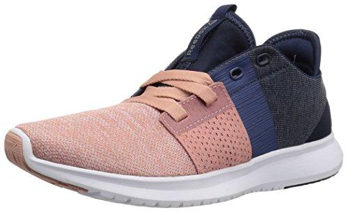 Reebok Vrouwen Trilux Lopen Sneaker Krijt Roze / Gewassen Blauw / Coll. Navy / Wit / Tin