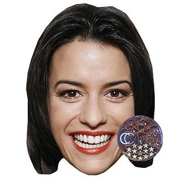 Anna Lena Class Máscaras de personajes famosos, caras de carton