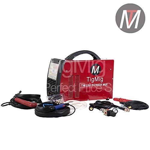 TM 230 Powermix - Inverter Multi Processo 4 x 1 - Soldadura TIG ac-dc-mma-plasma: Amazon.es: Hogar
