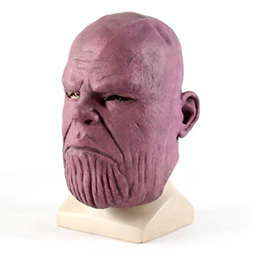 Infinity War Super Hero Thanos 3D Latex Mask Party Props and -