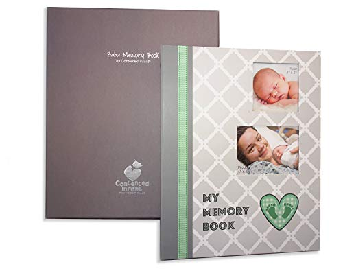 - Baby Memory Book Photo Journal: Flexible Organization Loose Leaf Ring Binder Style Album. Birth - First 5 Years, with Gift Box for Photos Keepsakes Hand Foot Prints Memories; Pocket Pages for Storage