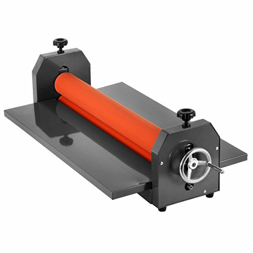 Popsport Manual Cold Roll Laminator 29.5 Inch Cold Manual Laminator 4 Roller System Cold Laminator Rolls Vinyl Photo Film Mounting Laminating Machine (29.5 Inch)