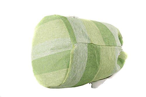 Borsa mare piscina donna RENATO BALESTRA verde sacca zaino a spalla V148