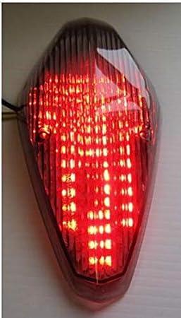 Topzone Lighting Grau Lens Motorrad Led Rücklichter Rücklicht Mit Integrierten Blinker Lampe Indikatoren Für Honda Vtx 1300 1800 Retro 1800t Auto