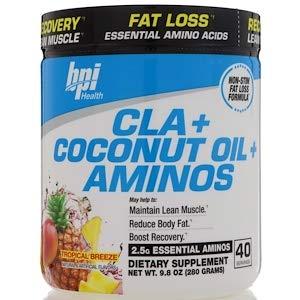 CLA + Coconut Oil + Aminos, Tropical Breeze, 9.8 oz (280 g)