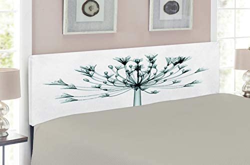 Amazon Com Lunarable Flower Headboard For King Size Bed X Ray