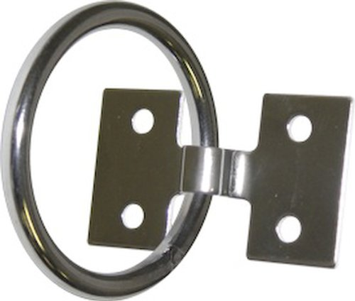 SeaSense Stainless Steel Mooring Ring, 2 x 1/4-Inch ()