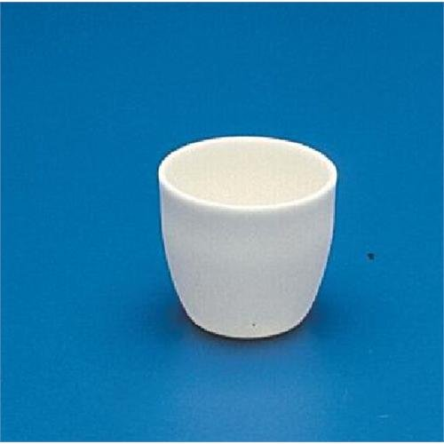 CoorsTek 65504 High-Alumina High Form Crucible, 50mL Capacity, 48mm OD, 47mm Height