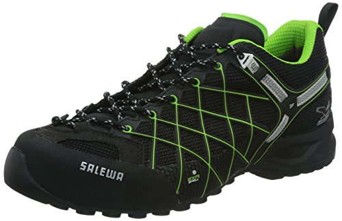 Salewa Herren MS Wildfire GTX Wanderschuhe Schwarz (Black/Emerald)