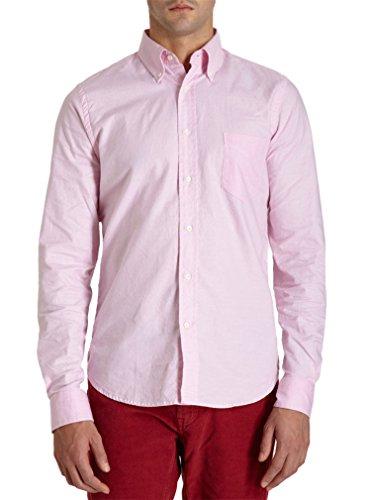 Gant Rugger The Hugger Dreamy Oxford Dress Shirt X-Large Pink Button-Down