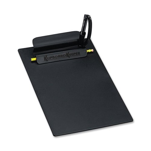 Wholesale CASE of 10 - PM Company Klipboard Keeper Clipboard w/ Pen-Klipboard Keeper,w/Agion Preventa Pen,9-1/4
