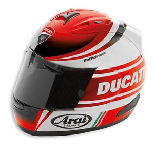 Ducati Racing Stripe rx7-gp casco Arai