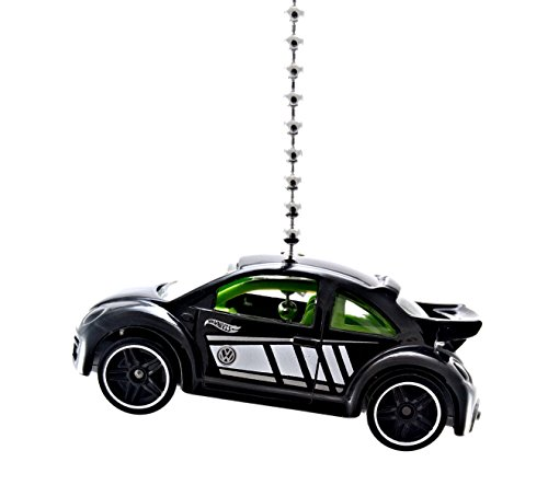 Ctr Cup Pull - Hot Wheels Volkswagen Diecast Ceiling Fan Light Pull Ornaments 1/64 (VW New Beetle Cup Black)
