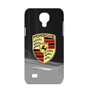 Porsche Logo Phone Case Customized 3D Style Delicate Protector Snap on Samsung Galaxy S4 Mini with luxury Porsche Flag