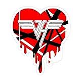 Pacipic Beach 3Pcs/Pack Van Halen Dripping Heart
