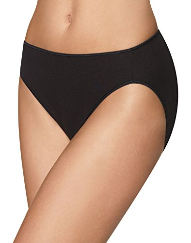 Seamless High Cut Brief (Hanes Women's 3 Pack Smooth Illusion Hi Cut Panty, Assorted, 7)