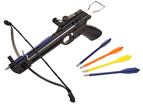 Tactical Crusader Hand Held Hunting Archery 50LB Pistol Crossbow Gun]()