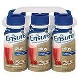 Abbott Nutrition Ensure Plus Strawberry Retail 8Oz Bottle