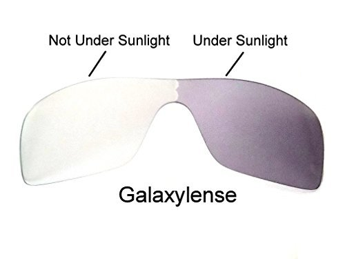 Galaxy Replacement Lenses for Oakley Batwolf Photochromic  Transition,100%UVAB 9f7e349ec0