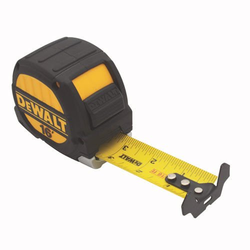 DEWALT DWHT33924L 16 foot Tape Measure, 1-1/4 inch blade by DEWALT
