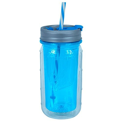 Cool Gear Hot/Cold Plastic Mason Jar by Cool Gear