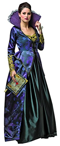 Rasta Imposta Women's Once Upon A Time Evil Queen, Purple/Black, (Evil Queen Costume Ouat)