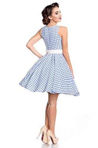 125fb925e057 Kleid Hellblau weiß Belsira Karokleid tight.teenikkey.com