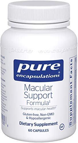 Pure Encapsulations - Macular Support Formula - Hypoallergenic Supplement with Enhanced Antioxidant Formula for Healthy Eyes* - 60 Capsules -