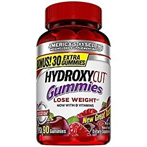Hydroxycut Nutrition Gummies, Mixed Fruit, 90 Count from Hydroxycut