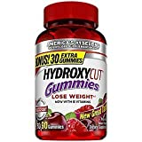 Hydroxycut Nutrition Gummies, Mixed Fruit, 90 Count