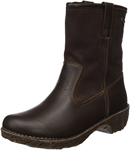 El Naturalista Ladies Ng53 Stivaletti Yggdrasil Soft Grain-pleasant Brown (marrone)