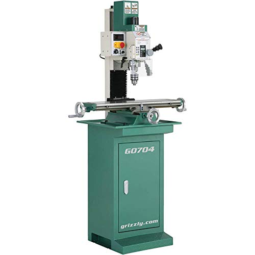 (Grizzly G0704 Drill Mill with)