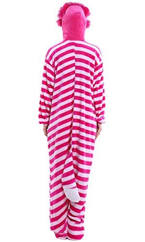 Cheshirecat Costume Kigurumi Pigiama Onesie Dolamen Sleepwear Adulto Natale Halloween Anime Attrezzatura Donna Unisex Uomo Party Cosplay ZSFn4f7qw