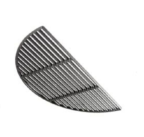 (Big Green Egg Grill & Smoker Cast Iron & Half Moon Grids - Authentic Big Green Egg Parts & Accessories for the Serious Big Green Egg Grill & Smoker User - Satisfaction Guaranteed (X-Large Half Moon))