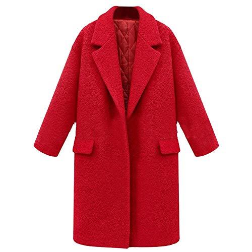 Con Huixin Classiche Casual Primaverile Fit Giacche Autunno Trench Rot Slim Monocromo Outerwear Cappotto Manica Parka Tasche Donna Costume Lunga r71rqn