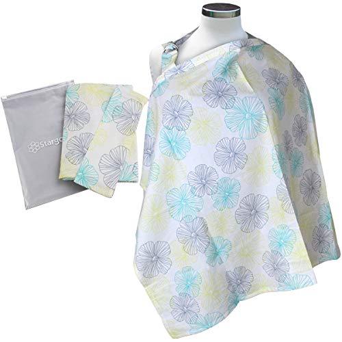 Stargoods Manta de Maternidad para Amamantar a tu Bebé, Comodidad y Protección en Diferentes Diseños, Incluye bolsa de...
