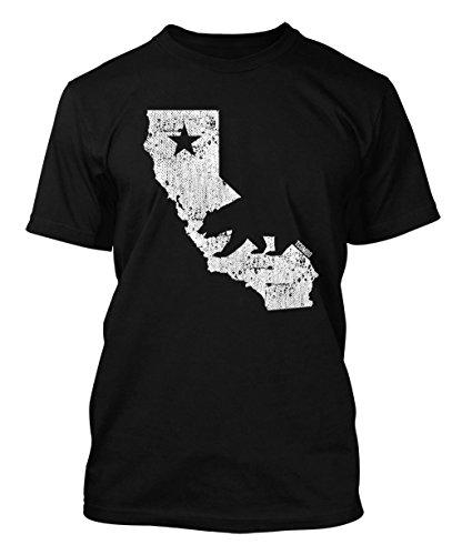 California Map - Cali Bear Men's T-shirt