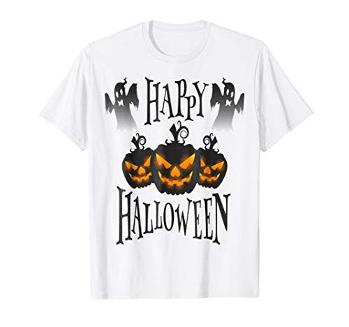 Happy Halloween t-shirt funny gift for dad mom family 2018