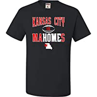 Go All Out XXXXX-Large Black Adult Kansas City is Mahomes T-Shirt