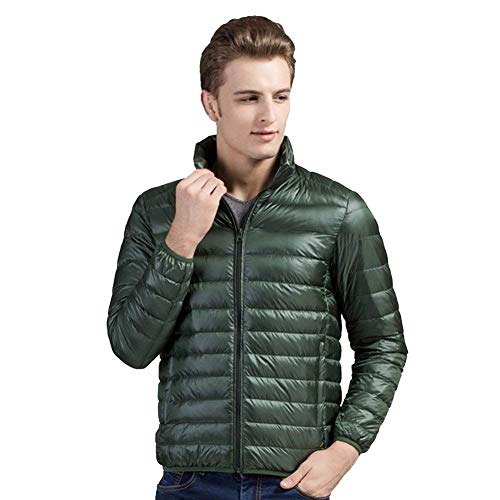 Stand Coat Grün in Down Winter Fashion Duck Comfortable Design Battercake Nnen Down Collar Jacket Coat Men wUnq7Z