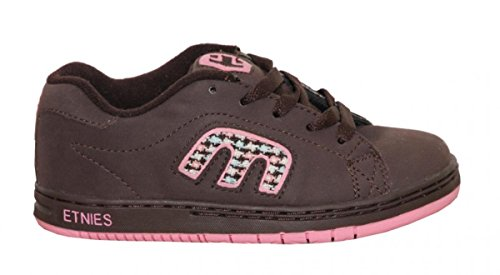 Etnies Skateboard Kids Schuhe Callicut Brown/Pink