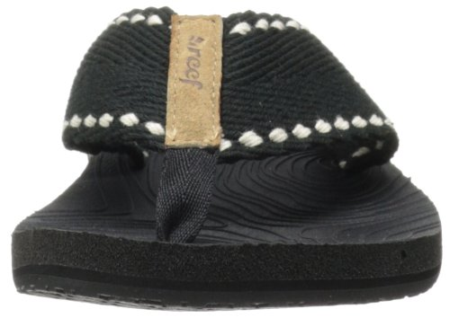 Reef REEF ZEN WONDER - Sandalias de material sintético para mujer negro - Schwarz (BLACK/BLACK / BK2)