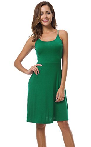Loose Sleeve Length Pockets Green Knee Dress Casual Women's Pleated Shirt AUHEGN Long T Swing with TOcBYWnCx